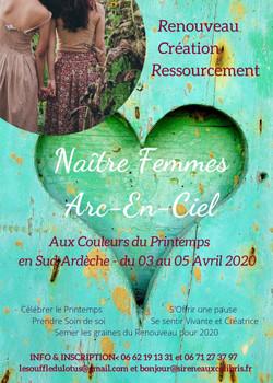 Stage Naitre Femmes Arc En Ciel, aux couleurs du Printemps