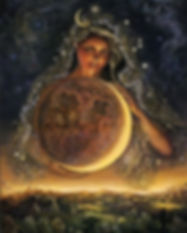 femme féminin lune soins