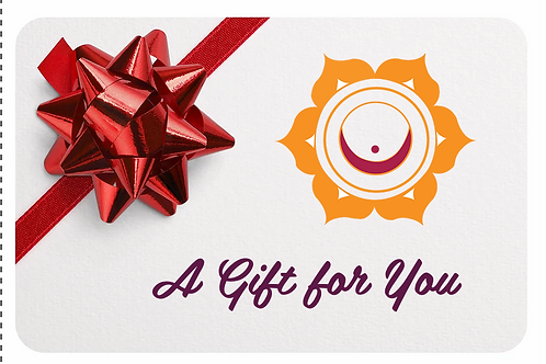 Yoga Series Gift Card