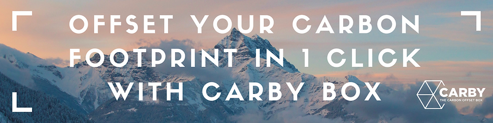 Purchase Carby Box Carbon Offsets on Amazon
