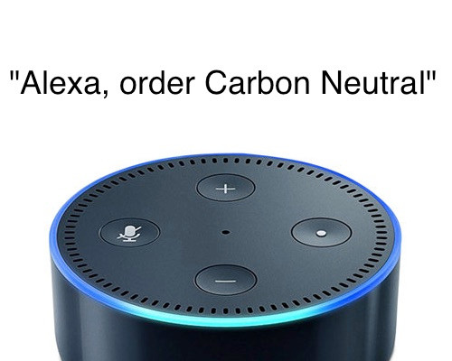 Amazon Alexa Carbon Offsets