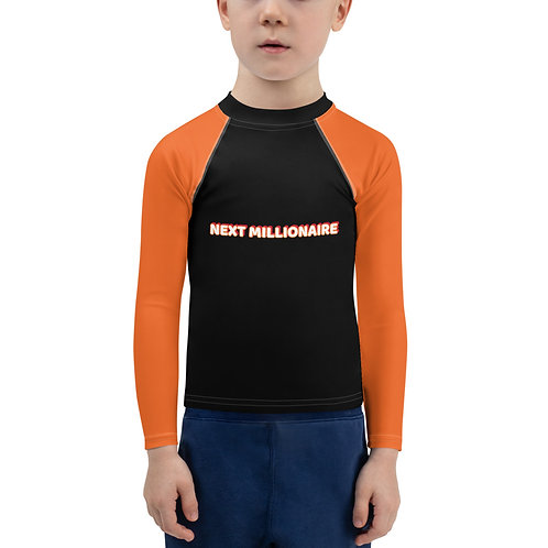Next Millionaire Loading Kids Rash Guard