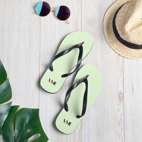 MME Lime Flip-Flops