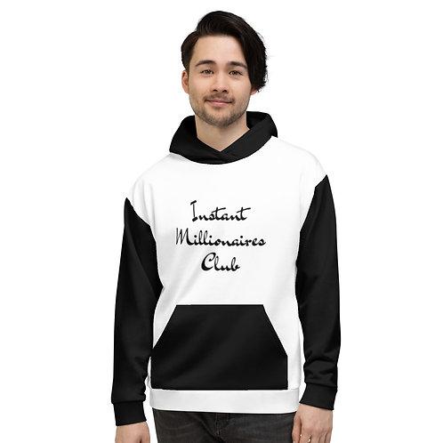 Instant Millionaires Club Hoodie B/W