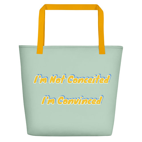 Convinced Beach Bag