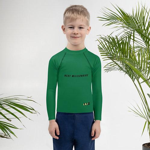 Next Millionaire Kids Rash Guard