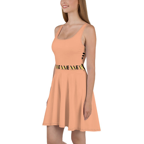 MME Peach Summer Dress