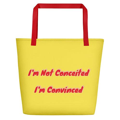 Convinced Beach Bag
