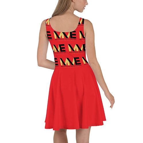 MME Red Summer  Dress