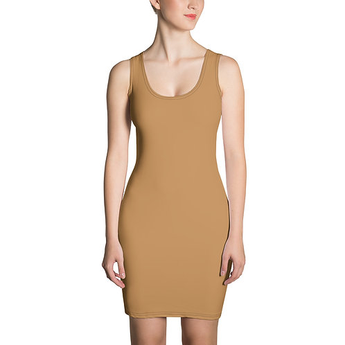 MME Nude Formal Dress