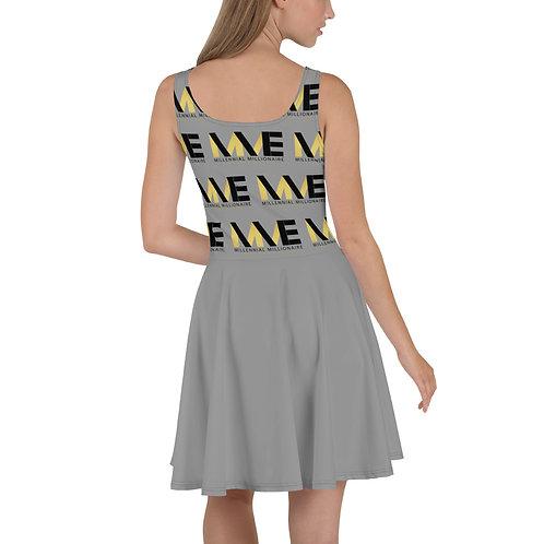 MME Gray Summer Dress