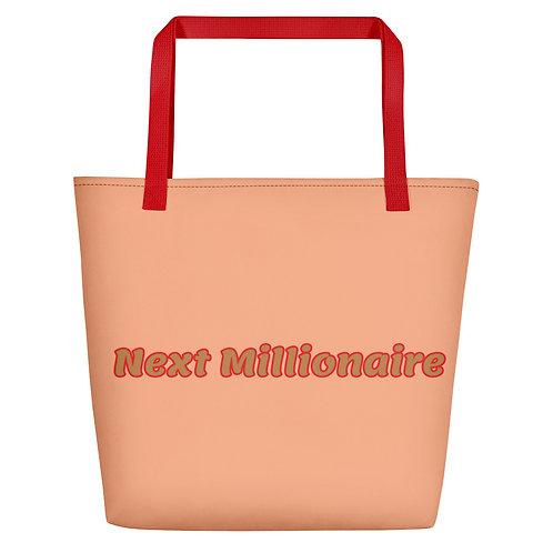 Next Millionaire Beach Bag