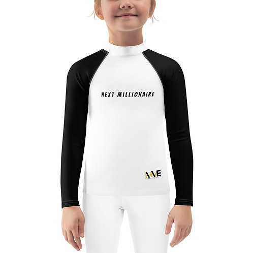 Next Millionaire Loading Kids Rash Guard