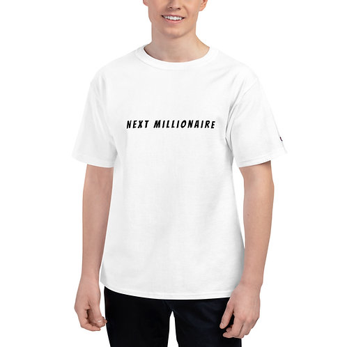 Next Millionaire Men's Champion T-Shirt