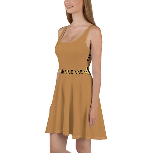 MME Nude Summer Dress