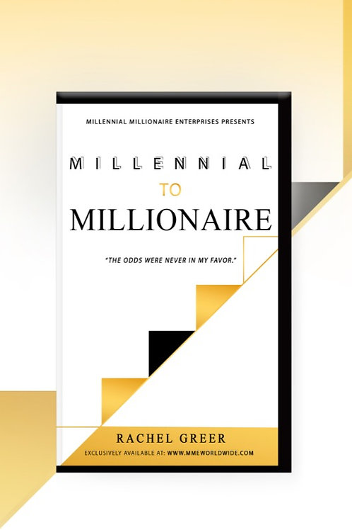 Millennial To Millionaire Gold - Paperback