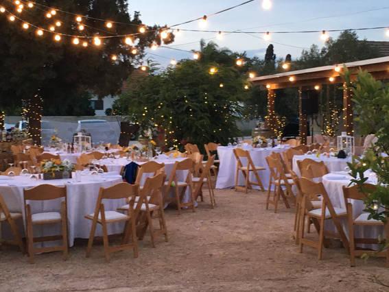 הפקת חתונה כפרית