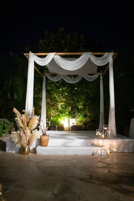 עיצוב חופה לחתונה