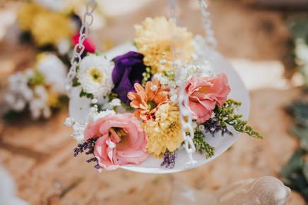 דוכן פרחים