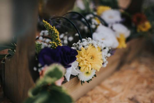 עמדת פרחים