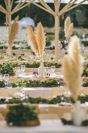 עיצוב שולחן חתונה
