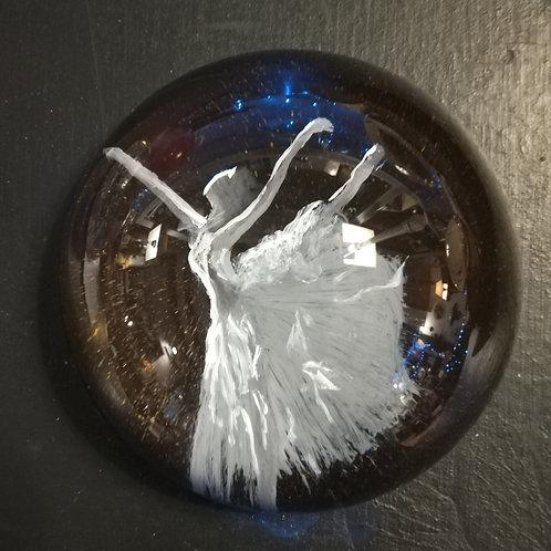 Presse-papiers en verre décorés à la main