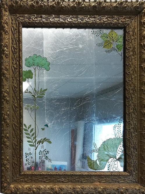 Miroir Art Nouveau fait main