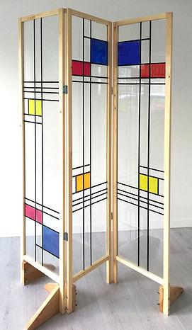 Mondrian verrière