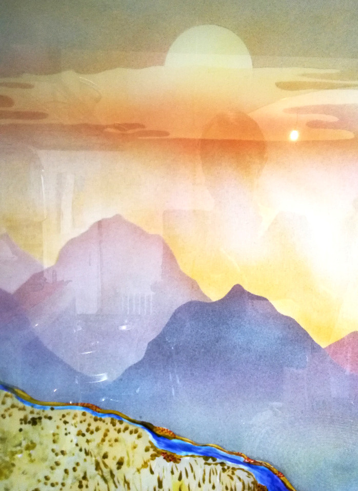 montagnes détail