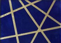 Graphique Bleu Outremer