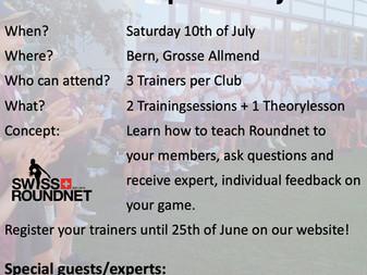 Swiss Roundnet Trainer Development day