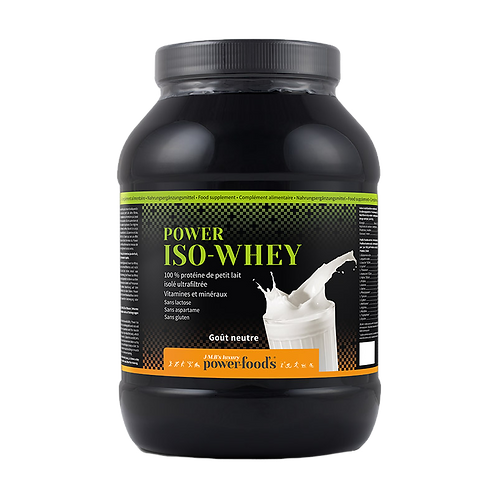POWER ISO-WHEY Luxury 2 kilos