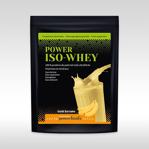 Power Iso-Whey Sachet Recharge 1 Kg