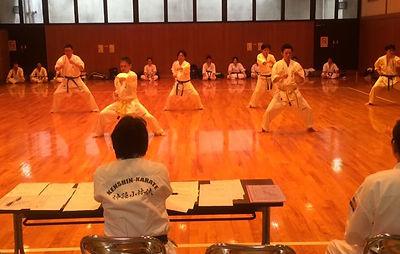 渋谷道場昇級審査