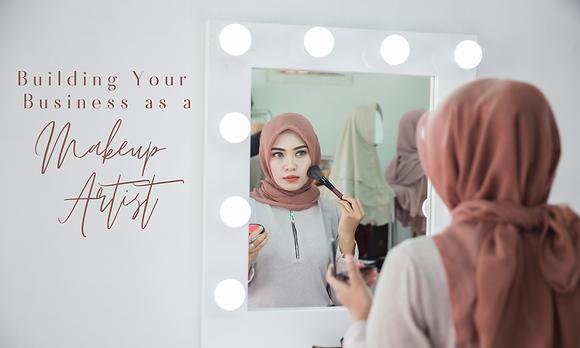 Building Your Business as a Makeup Artist with Lina Saree