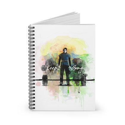 'Keep Going' Spiral Bound Notebook