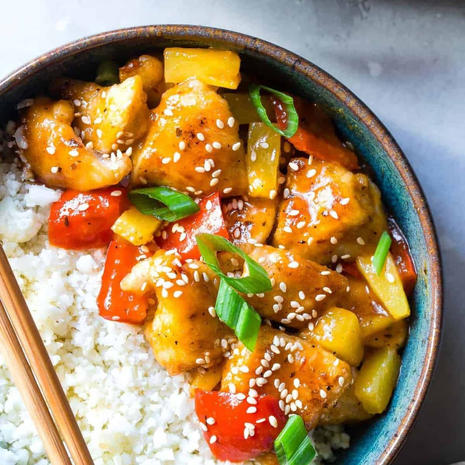 Sweet Sour Chicken (paleo, whole30)