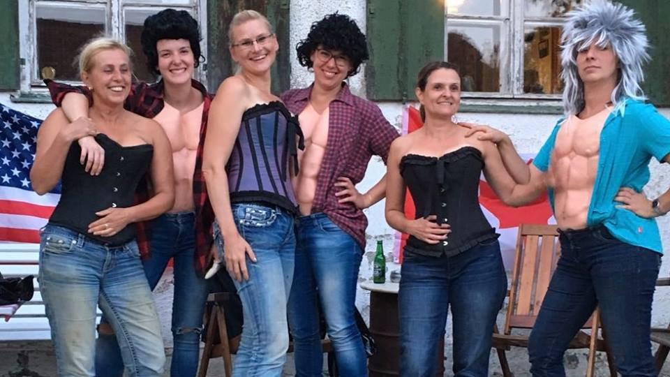 Quadrille Reiterinnen 2
