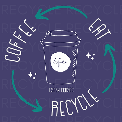 EAT, COFFEE, RECYCLE