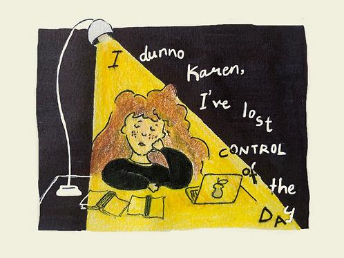 Control (Postcard/4x6 inches)