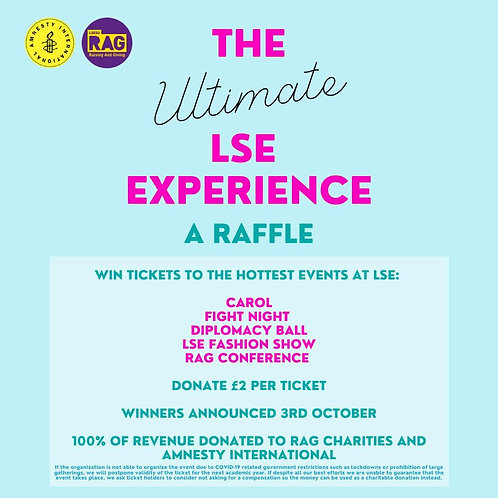 The Ultimate LSE Experience Raffle Tickets