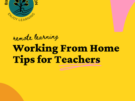 5 Tips to Consider When Teaching from Home