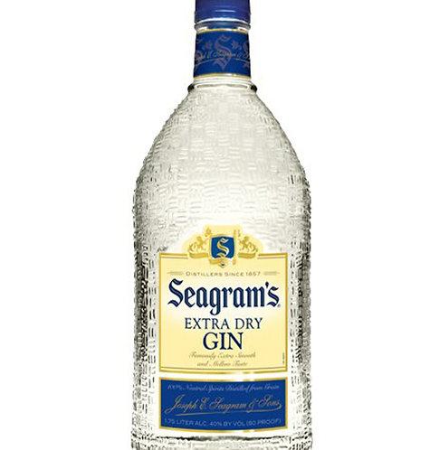 SEAGRAMS GIN -  1L