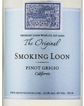 SMOKING LOON PINOT GRIGIO -  750ML