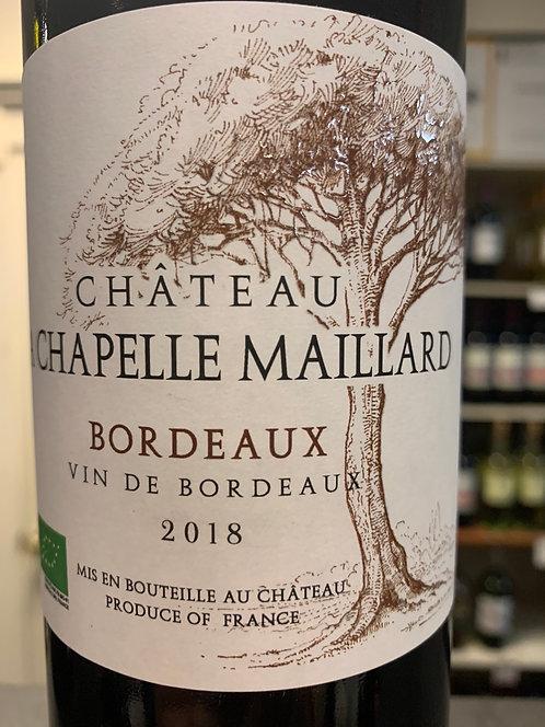 CHATEAU LA CHAPELLE MAILLARD BORDEAUX -  750ML