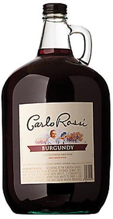 CARLO ROSSI BURGUNDY -  4L