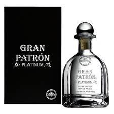 PATRON TEQUILA PLATINUM -  750ML