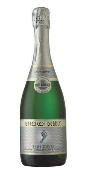 BAREFOOT BUBBLY BRUT -  750ML
