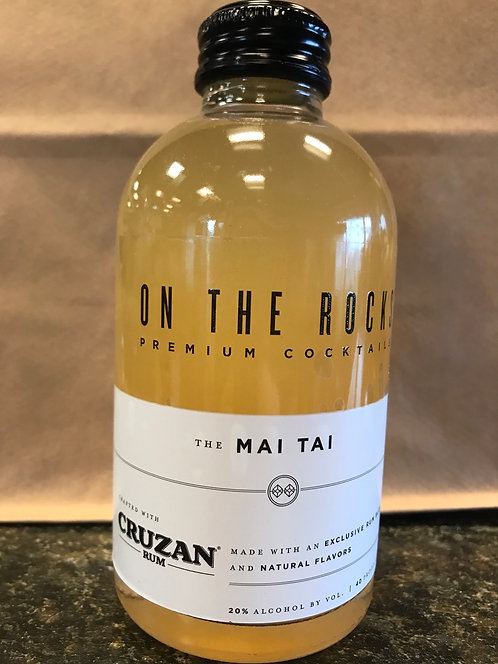 On the rocks the Mai Tai 200ml