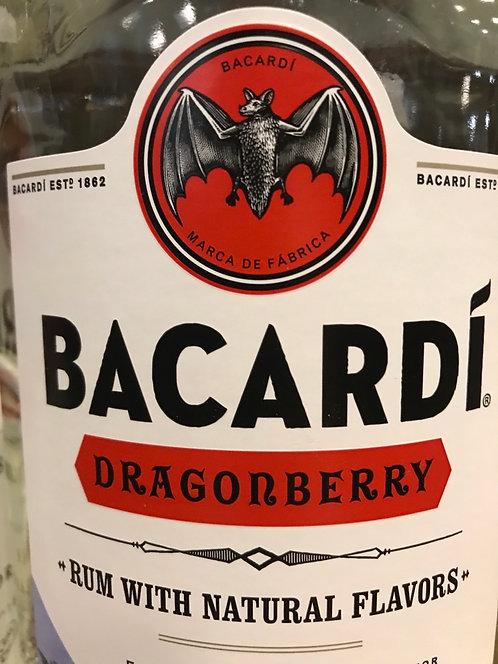 BACARDI RUM DRAGONBERRY -  1L